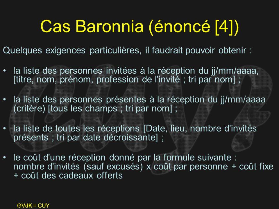 Cas Baronnia (énoncé [4])